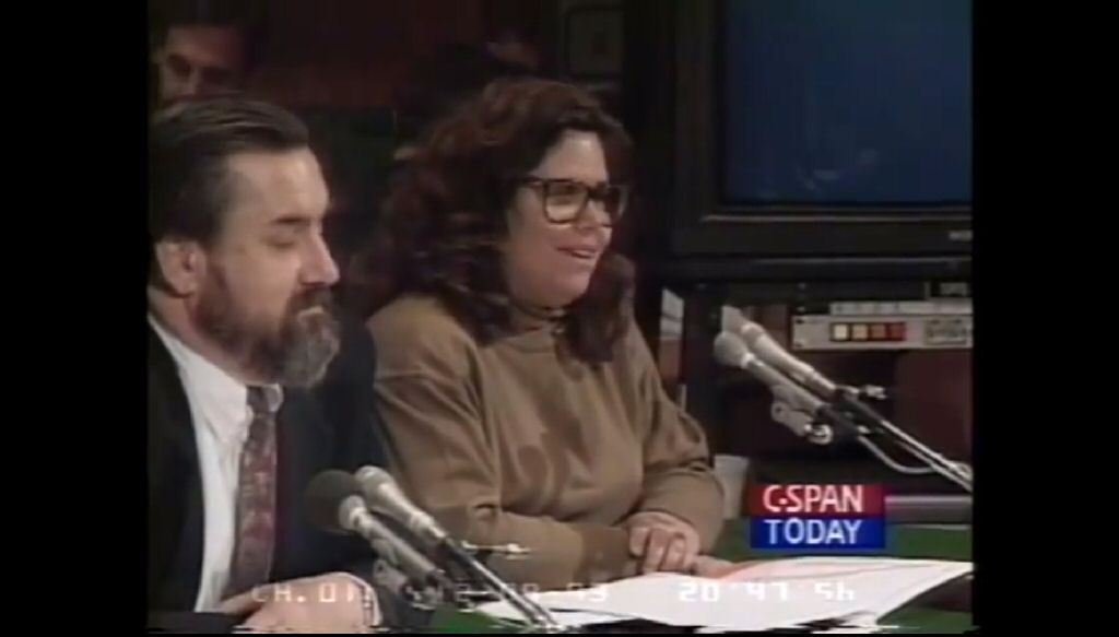 The 1993 congressional hearings on videogame violence.