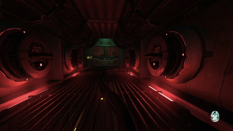 Spoooky red lighting! Oooooh!
