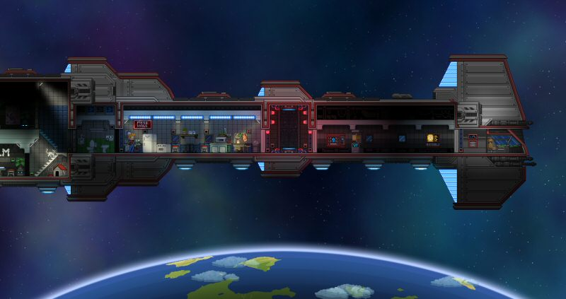 You can design and furnish your own starship. Or a base on the planet surface. Or on every planet surface. Feel free. There's plenty of room.
