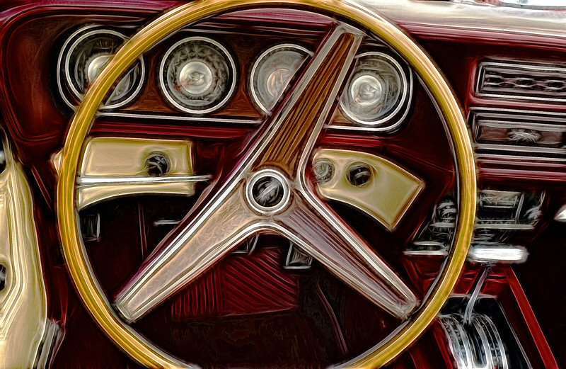 How did they fit the airbag into such a thin steering wheel? Amazing!
