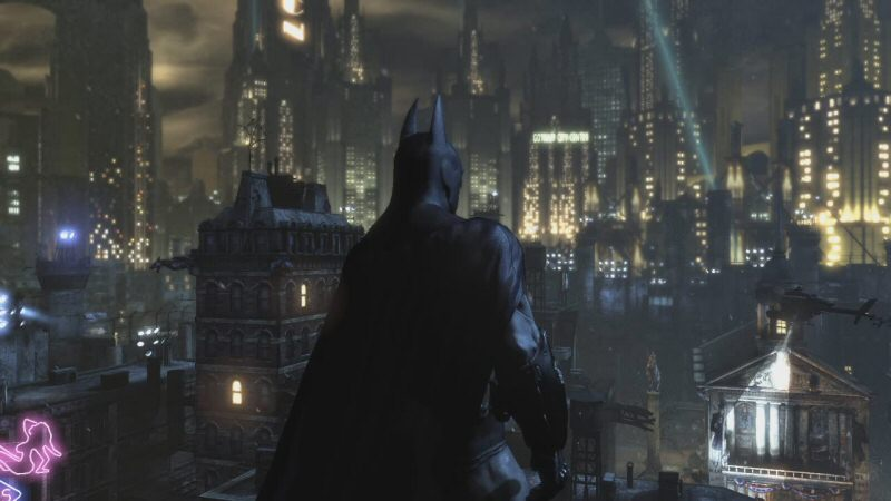 Alfred, I'm in position over the city. I'm going to begin brooding now. Let me know if there's any crime that needs to be punched in the face.