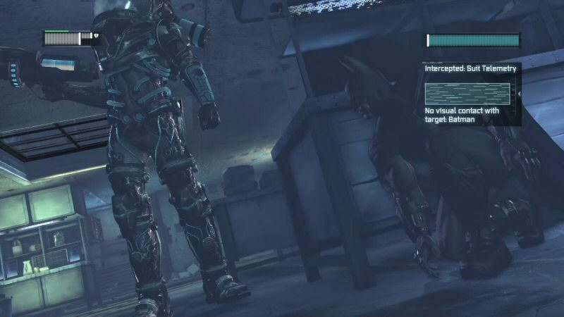 This ambush isn`t going to work. For whatever reason, Batman refuses to do corner ambushes against Freeze.