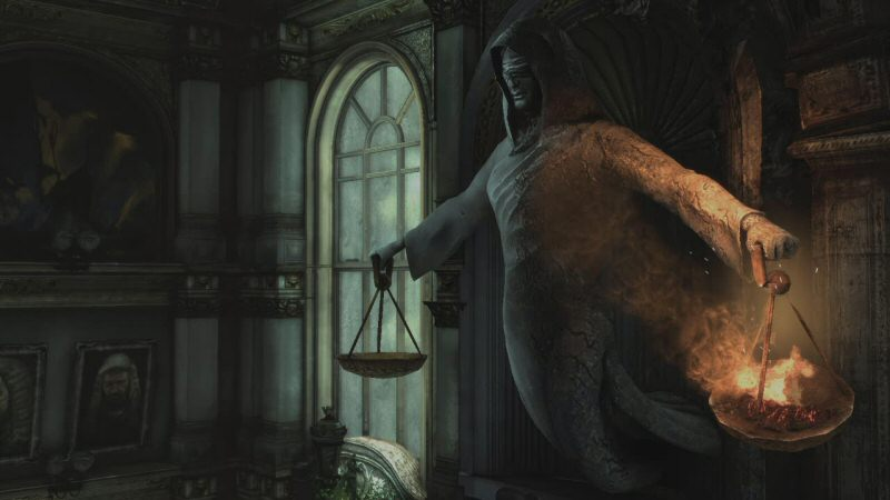 Technically this is Lady Justice, not Lady Fairness. Neither of which should be confused with My Fair Lady.