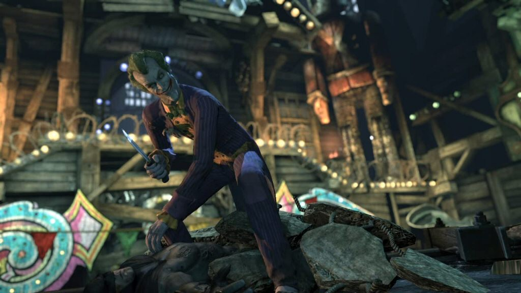 Batman is trapped and can do nothing but passively watch the cutscene play out. I know just how he feels.