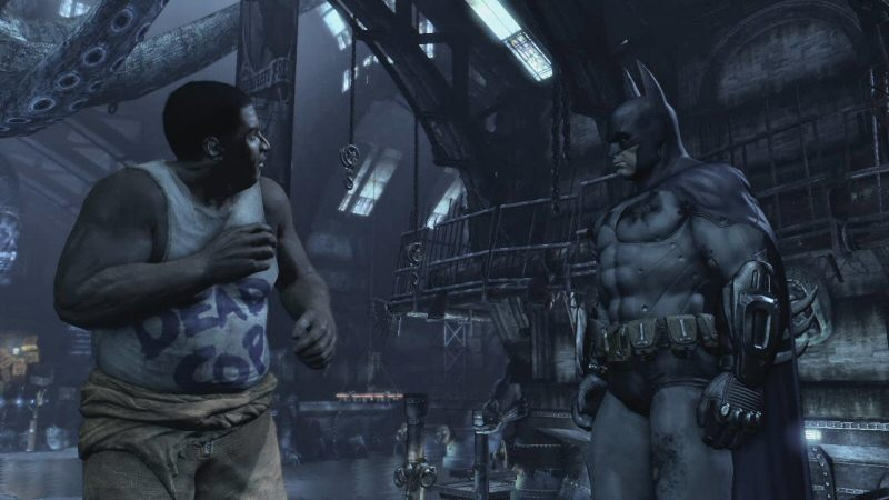 Thanks for temporarily saving me, Batman. It's always nice to take a break from being captured.