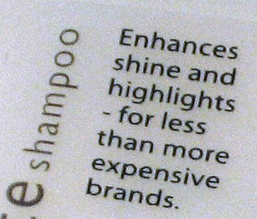 Suave Conditioner – Costs less than more expensive brands!