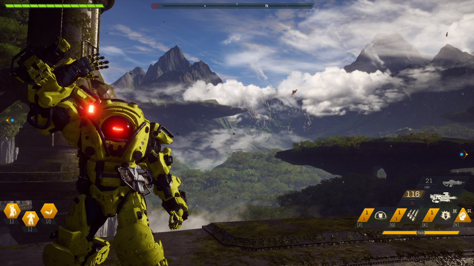 Remember Anthem? That's the one with the Iron Man armor, the really pretty skybox, the huge marketing campaign, and NOTHING ELSE going for it. I get bored just looking at these old screenshots.
