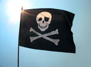 The Jolly Roger!