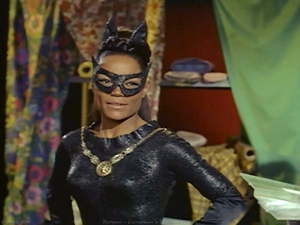 It's surprisingly hard to find pictures of Eartha Kitt's Catwoman.