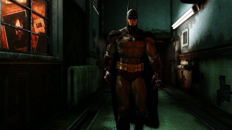 "I can dig 60's blue Batman. I can dig Arkham's grey Batman. But I think gunmetal black Nolan Batman is just a little too ""Darth Vader"" for my taste."