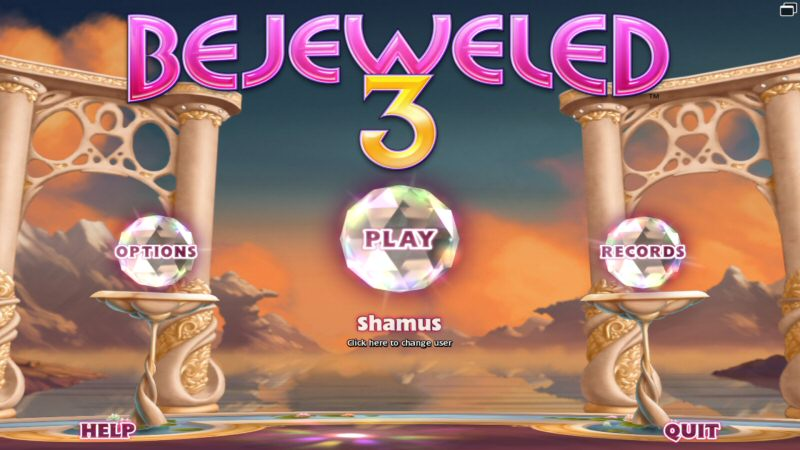 We're on Bejeweled 3 already? Isn't it about time for the dark gritty reboot?
