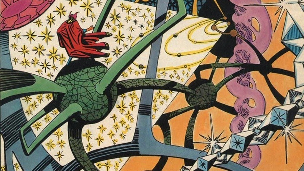 Back in 2006 I made the joke that the Blender interface was like the Dark Dimension in Dr. Strange. At the time, I could only find a tiny little 320x200 example image from the comics. Things are VERY different here in 2020. I could probably fill my hard drive with all of the Marvel comic pages available through Google Image Search these days.
