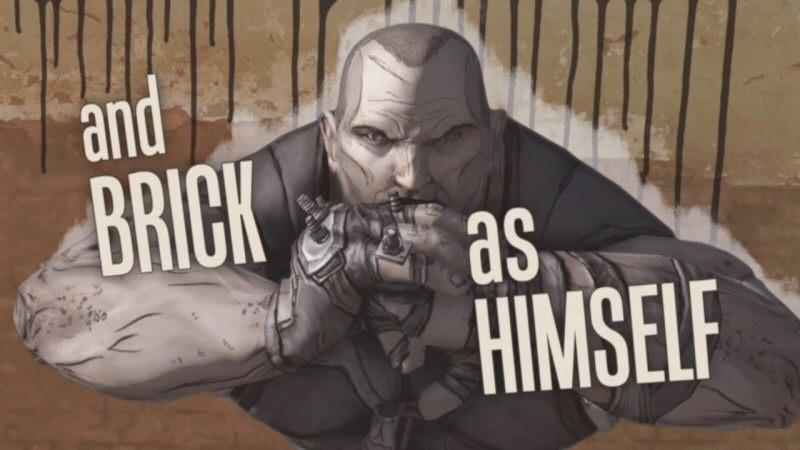 and BRICK as HIMSELF
