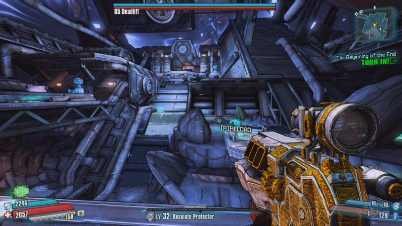 You`re supposed to be level 5 or 6 at this point in the game, but I`m level 32 here because I had to come back later to get some of these screenshots. You can`t normally stand around in the open taking pictures when you`re doing the fight for the first time.