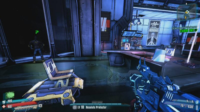 I like how his chair / throne is bolted to the deck about three meters from his desk, which doesn't have any sort of computer keyboard on it. Tell me again how this guy is supposed to be a programmer / engineer?