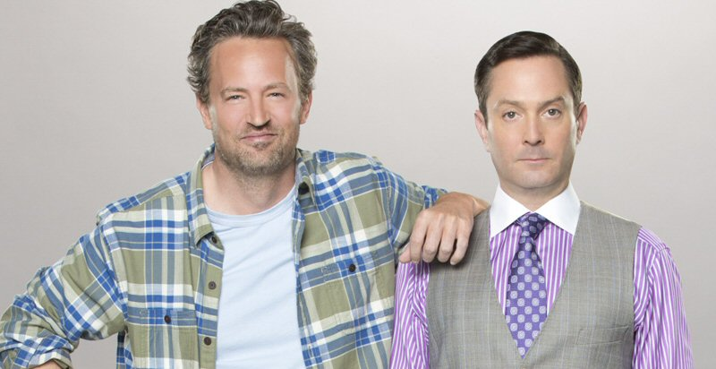 This is from a recent re-make / reboot of The Odd Couple. I hadn't heard about it, so I'm going to assume it was terrible.