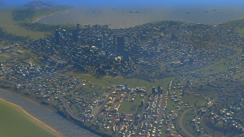 I don't have any screenshots of my body-ridden cities. I wish I did. The scattered icons really do drive home how ridiculous the system is.
