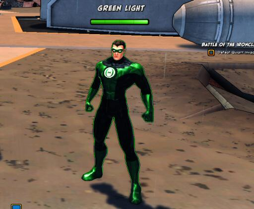 That's a pretty good Green Lantern, but still… all this freedom to create and all you want to do is re-make an existing hero?