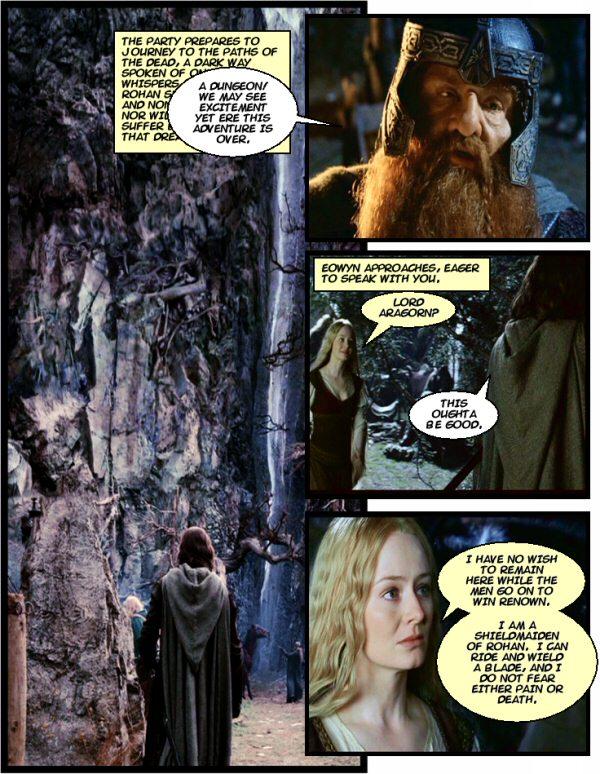 DM of the Rings CIV Girl Trouble Twenty Sided