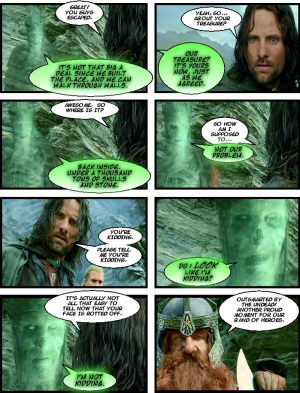 Aragorn:0 Undead: 1