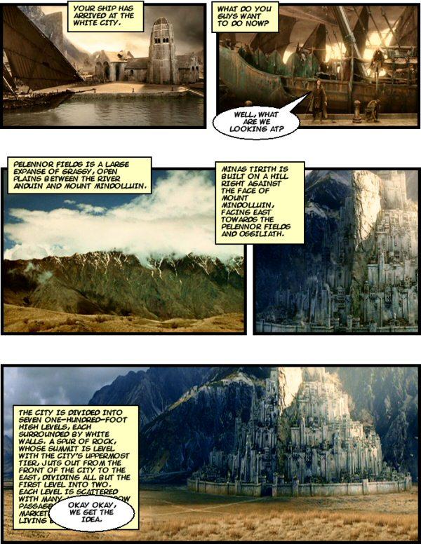 Welcome to Minas Tirith!