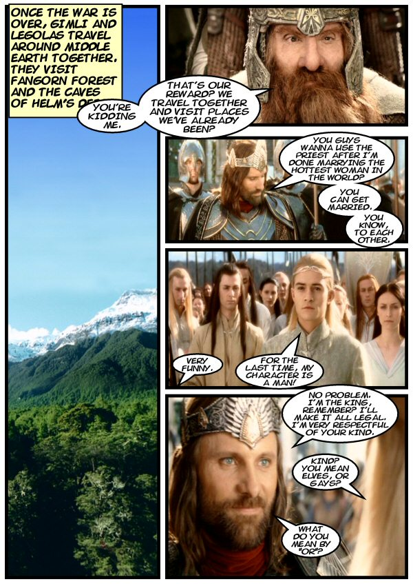 Aragorn makes a proposal.