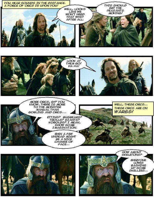 Goblins, Orcs, Ettins, Bugbears, Skelletons!