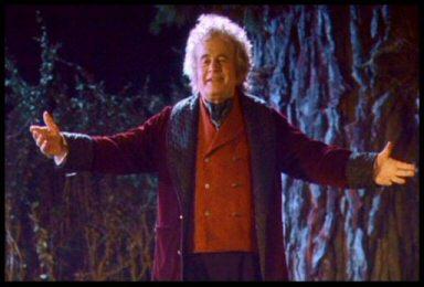 Dear old Bilbo.