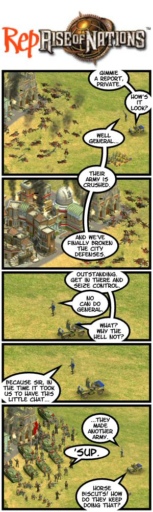 Rise of Nations – Reprise of Nations