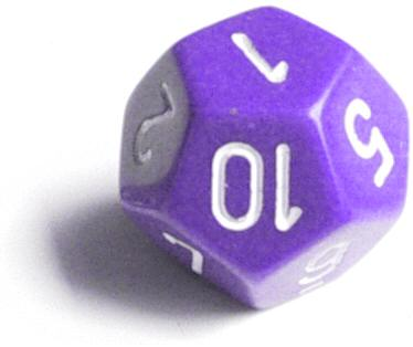 12 sided die roller