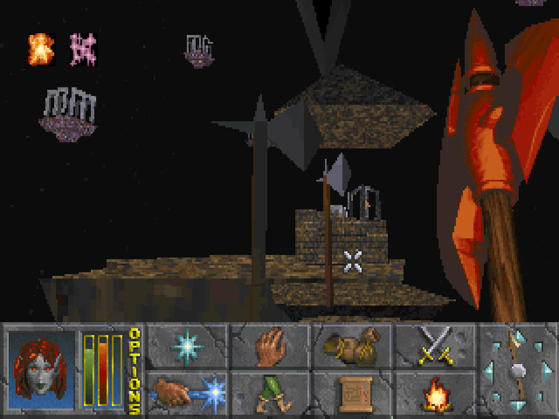 The last of which is this dungeon, which is such an unspeakable all-gracious pain in the cripes that it replaced about 45% of my memories of the game.