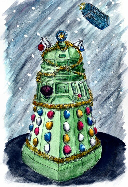 Deck the Dalek