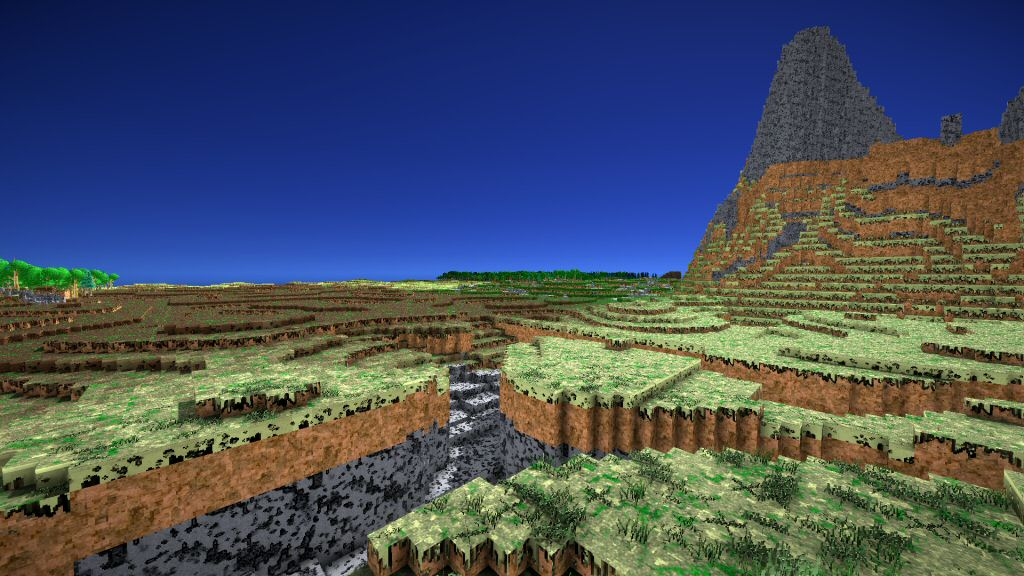 It's JUST LIKE MINECRAFT, except without the mods, interface, multiplayer, or gameplay.