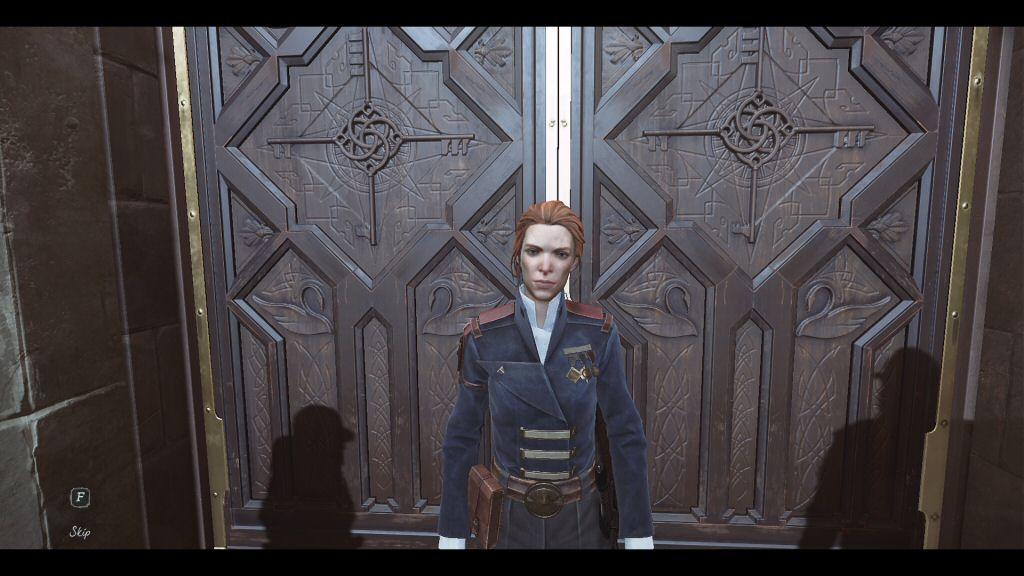 Nice to meet you, Mrs. Woman-who-will-be-dead-before-gameplay-begins.