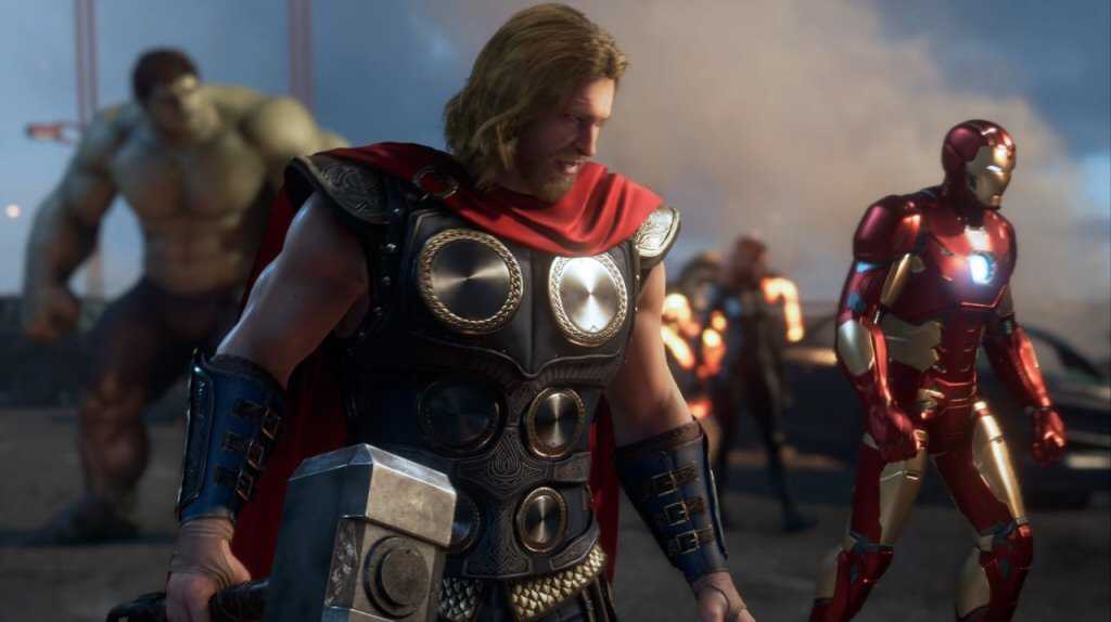 These characters look just enough like their MCU counterparts to create expectations that this game can't possibly meet.