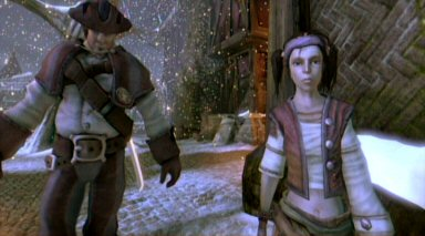 This is Rose, your doomed sister in Fable 2. Uh, the one on the right, that is.