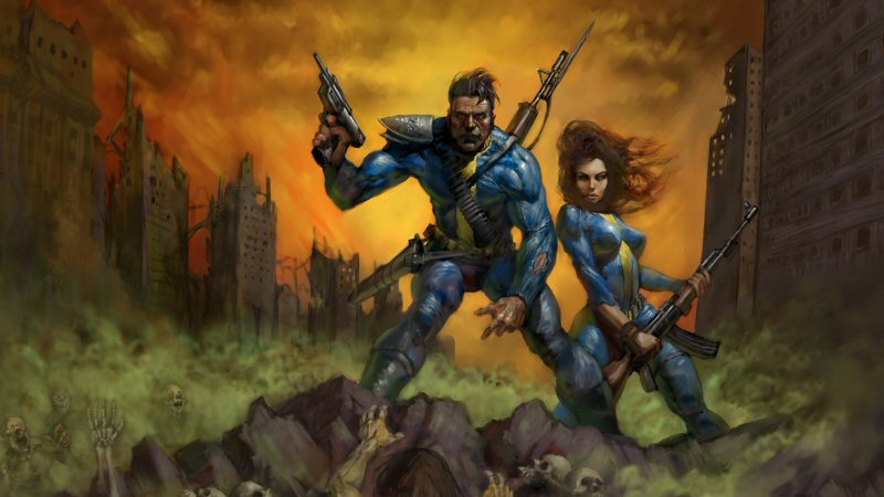 I loved the pulp-comic look of the art in the original Fallout.