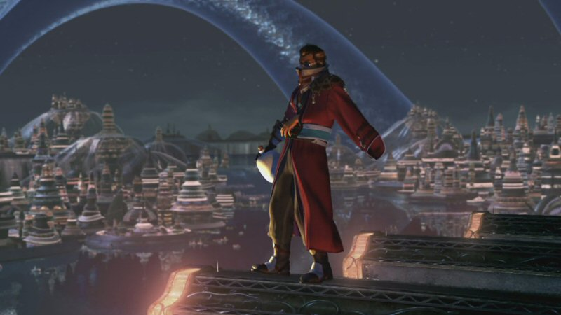 How the HELL did you get up here, Auron? And WHY?