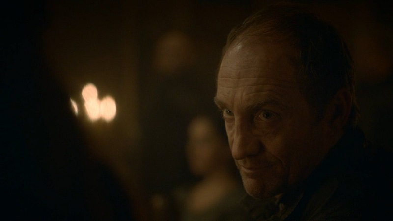 Twenty minutes into Red Wedding and chill and he gives you this look.