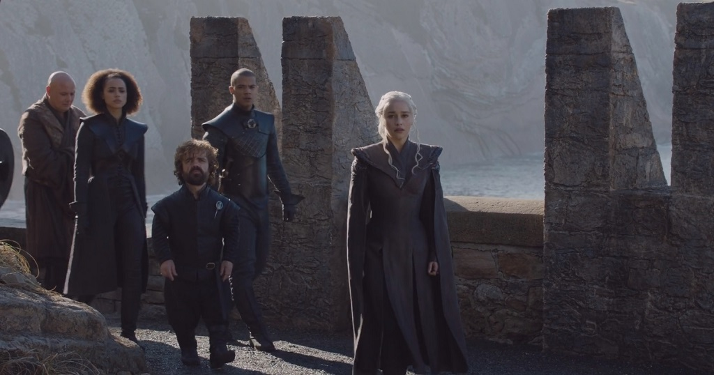 Team Dany. I thought they should have used the Reservoir Dogs music for this shot.
