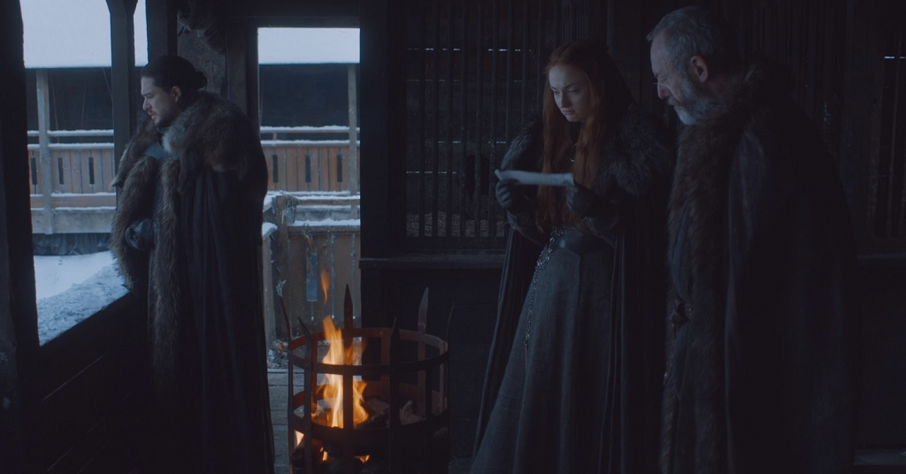 Of all the things that movies and TV shows put in medieval castles almost every time, `braziers lit in the middle of the day` is the one that makes me scratch my head the most.