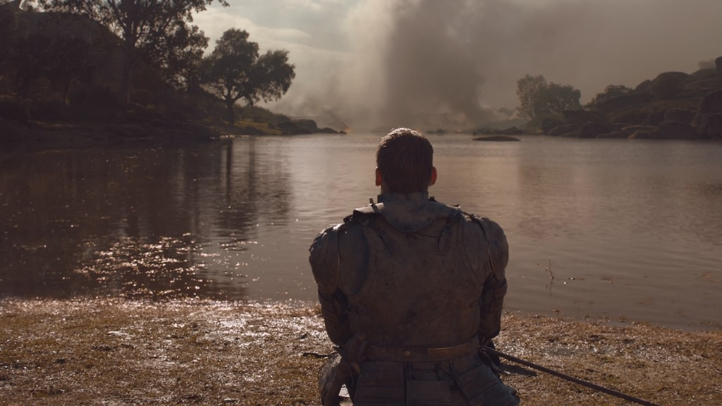 It`s a good thing none of the Dothraki took a casual look around after the battle, or they might have noticed the commander of the enemy army sitting on a nearby shore in plain view.