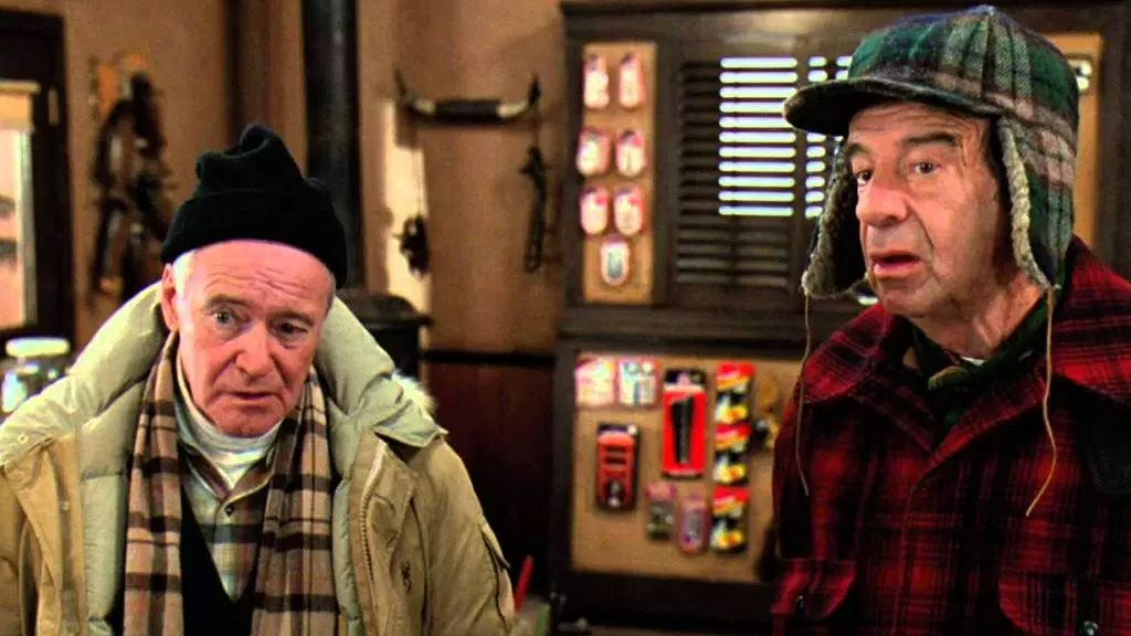 Image (mostly) unrelated. Having said that, I wonder whatever happened to the Grumpy Old Men Movies? The world seems to have forgotten them.