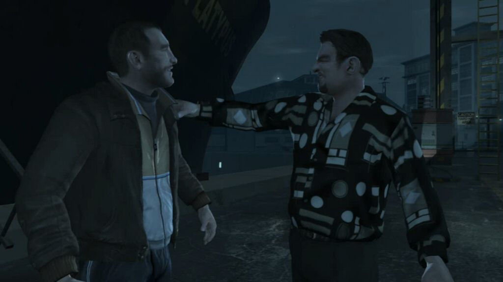 Is there something wrong with my monitor? I mean, BESIDES the fact that it's showing me images from GTA IV.