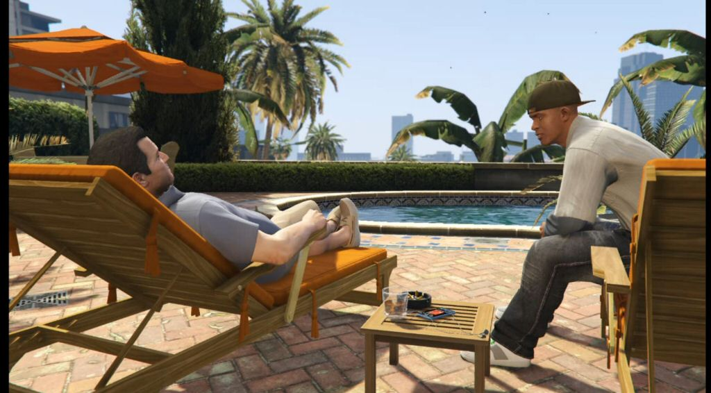 Michael and Franklin have one of the best-developed relationships in the game.