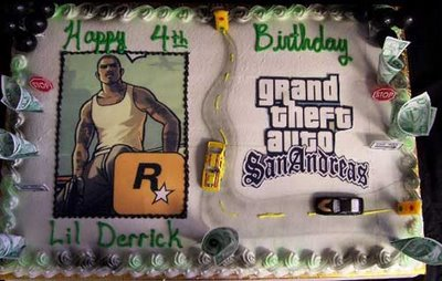 Grand Theft Auto: The Cake