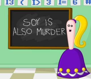 StrongBad: Soy is Murder