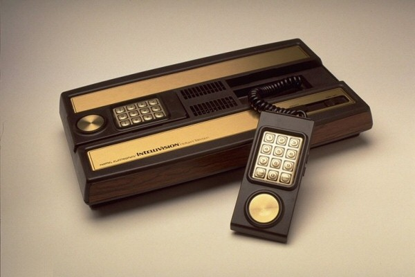 The Mattel Intellivision launched in 1980 with a keypad controller and 1456 BYTES of RAM.