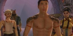 The characters of Jade Empire were crafted by 3d artists, without using art.