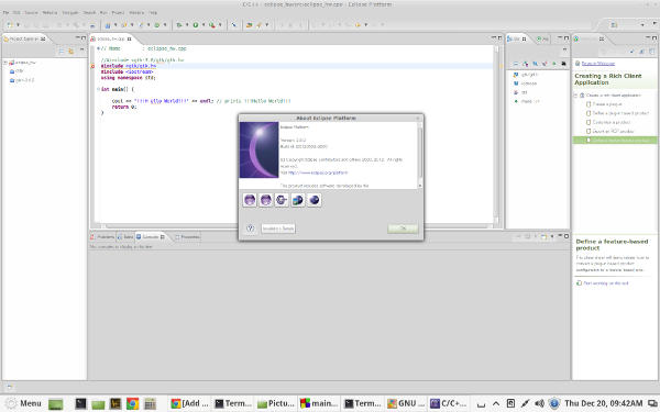 Eclipse IDE for Linux Mint